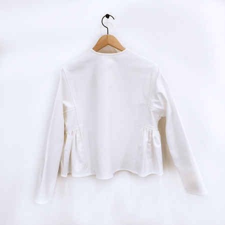 Creatures of Comfort Tulum Top - White