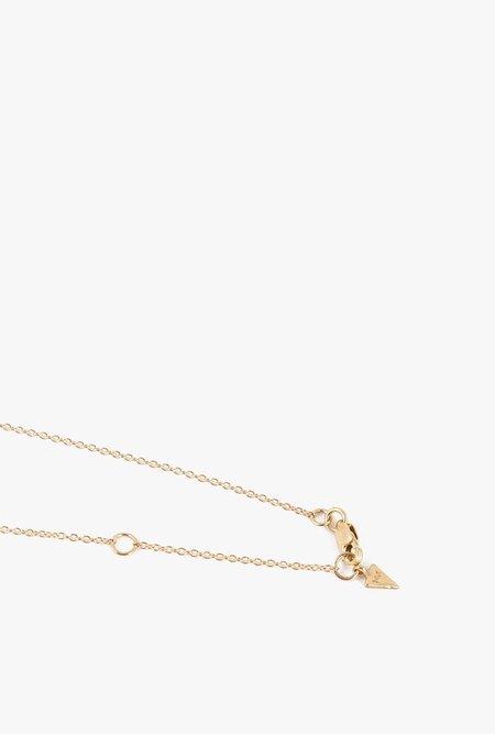 Loren Stewart Baby Bar Necklace - 14k Gold