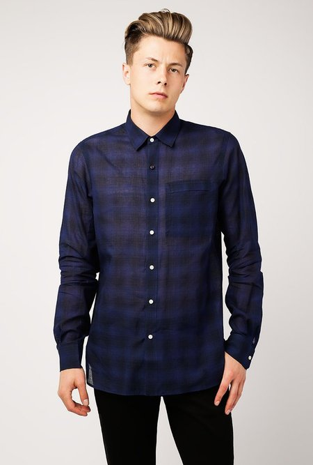 Kardo Frank LS Shirt - Dyed Check