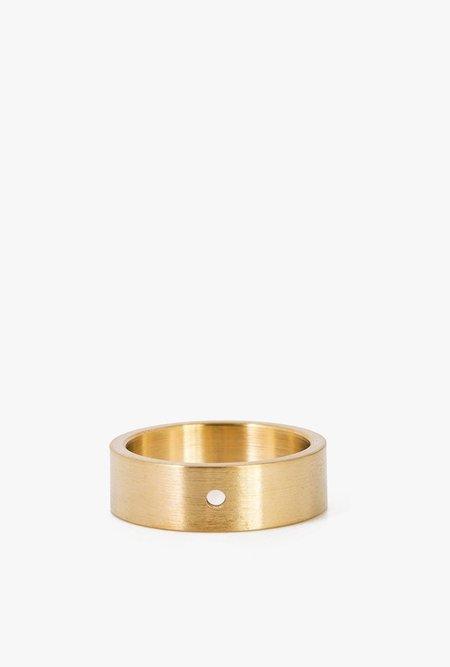 Marmol Radziner LW Solid Standard Ring - Brass Light