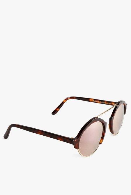 Illesteva Milan III Sunglasses - BLACK/SILVER