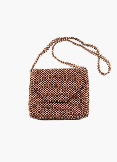 Abacá Ligaw Wood Sling Bag