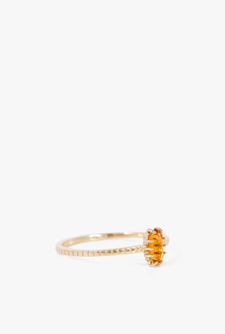 I Like It Here Club Oschun Ring - 14k Yellow Gold