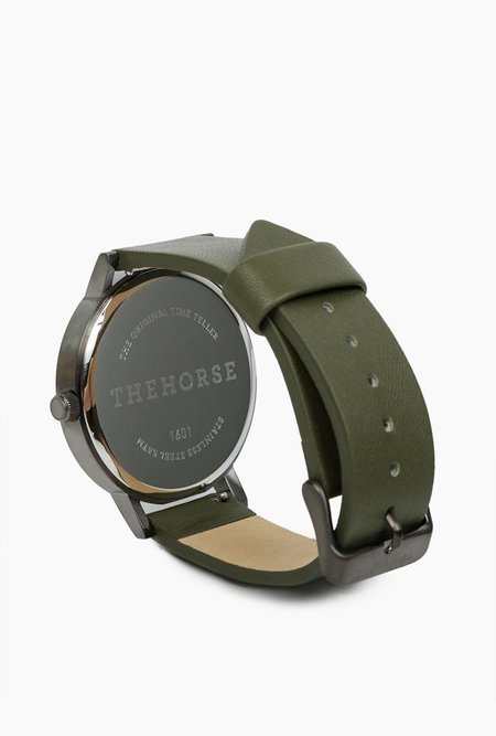 The Horse Watch The Original - Khaki/Gunmetal