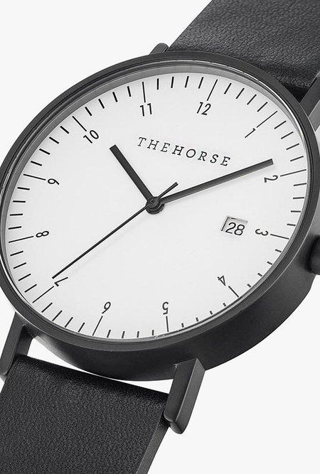 The Horse Watch D-Series D2 Watch - MATTE BLACK