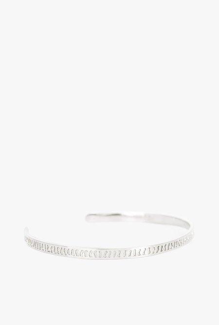 I Like It Here Club Tomboy Cuff Bracelet - STERLING SILVER