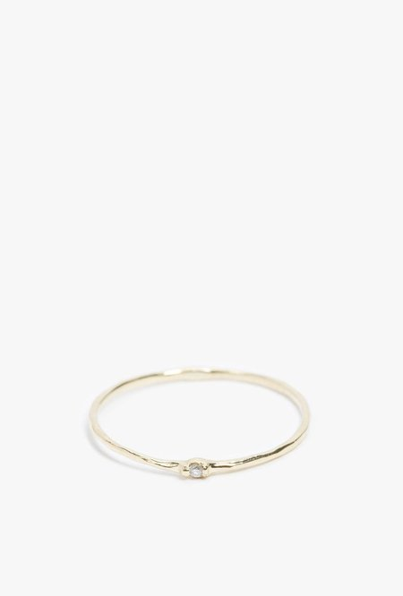 Grace Lee Diamond Whisper Ring - 14k Gold
