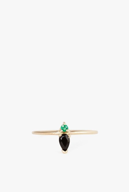 Lumo Emilia Ring - 14K Yellow Gold