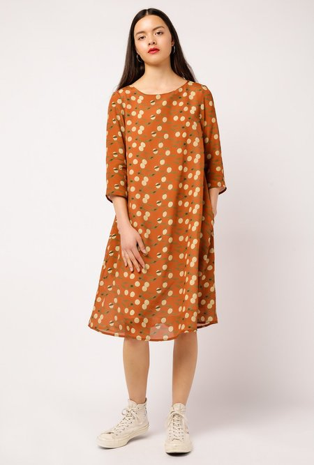 Samuji Finch Dress - ORANGE
