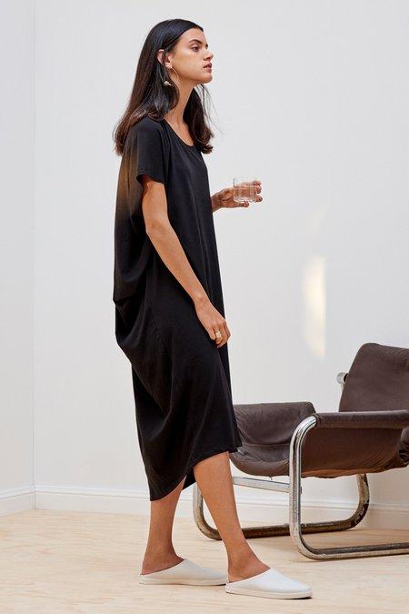 Kowtow Building Block Drape Dress - Black