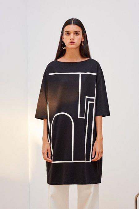 Kowtow Wall Dress - Black