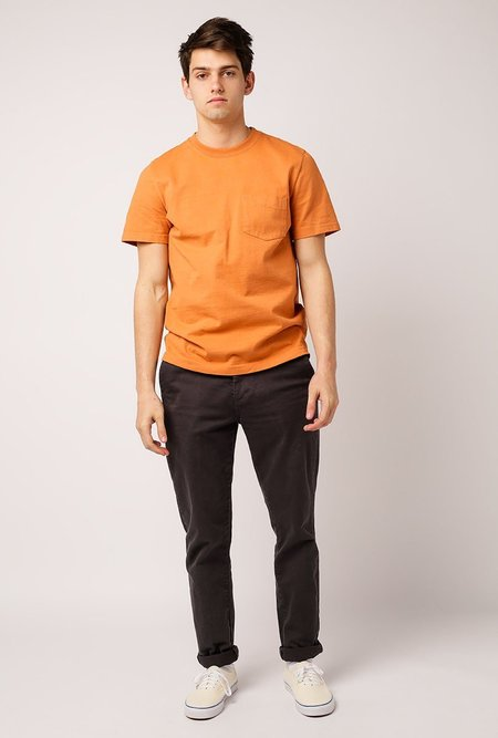 Welcome Stranger OD Bison Pocket T- Shirt - Sunburn