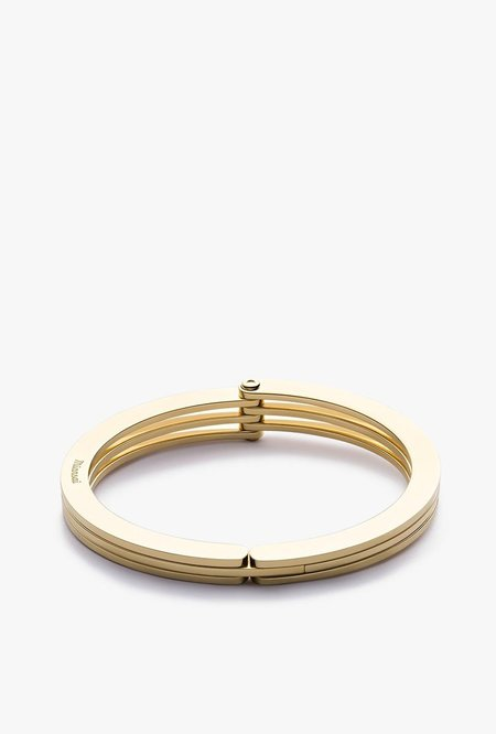 Miansai Offset Cuff - Gold Plated