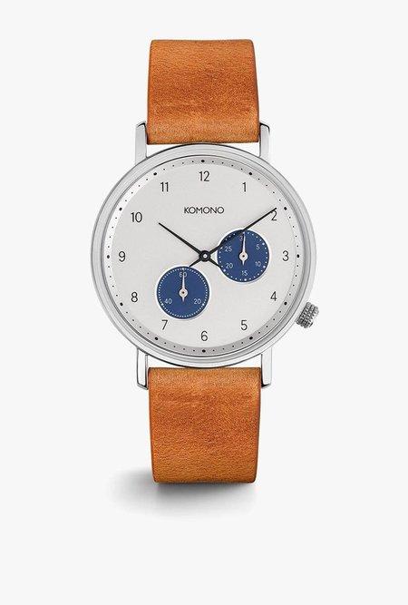 KOMONO Walther Watch - CAMEL