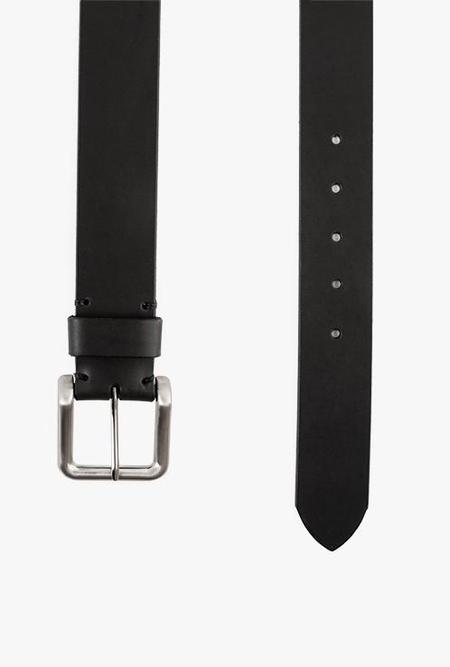 WELCOME STRANGER WS Leather Belt - BLACK