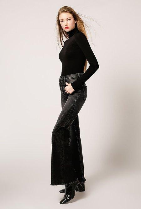 Goldsign Rollneck Bodysuit - Black