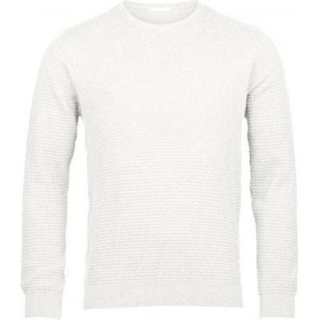 Knowledge Cotton Apparel Sailer Knit Look Gots - Star White