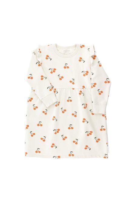 Kids Tinycottons Cherries Fleece Dress