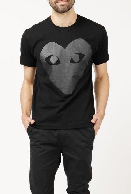 Comme des Garçons Black Emblem SS T-Shirt - Black