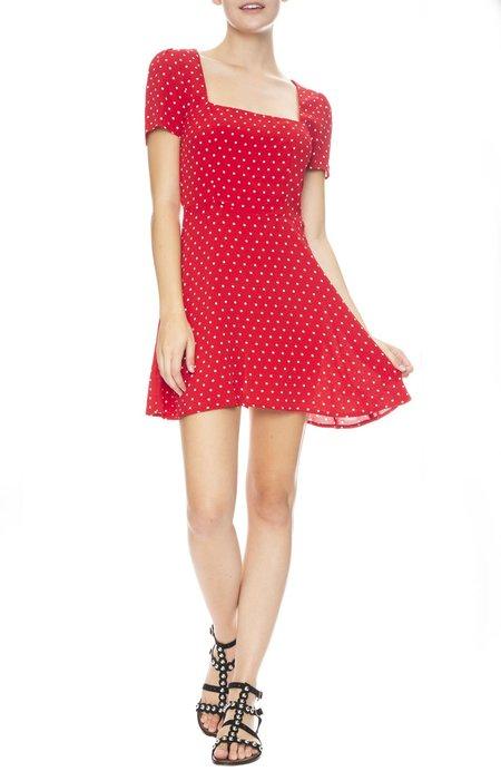 Flynn Skye Maiden Mini Dress - Cherry Dots