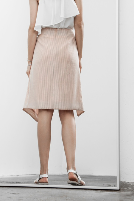 J.O.A. Soft Light Skirt - BLUSH