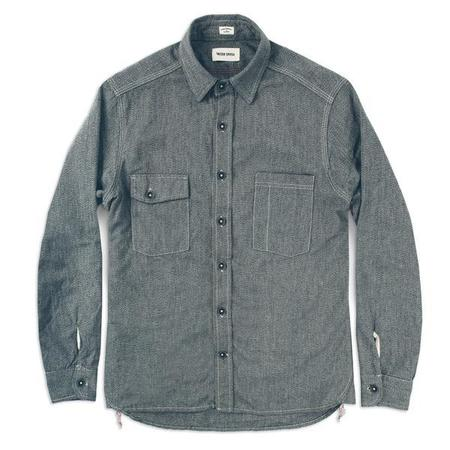 Taylor Stitch The Utility Shirt - Salt & Pepper Chambray