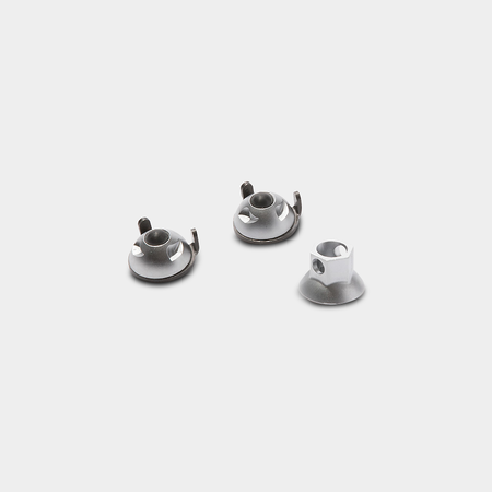 Pinhead 3/8 Solid Axle Locking Nuts