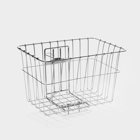tokyobike Deep Basket & Front Carrier - Silver