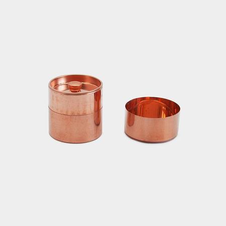 SyuRo Round Canister - Copper