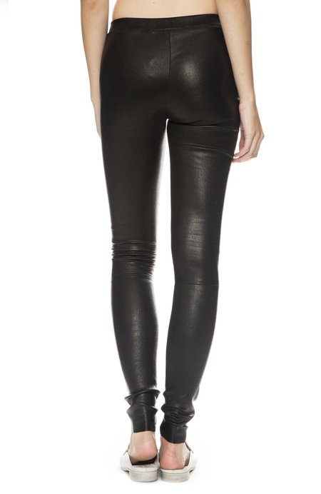 Margaux Lonnberg Chad Leather Legging - Black