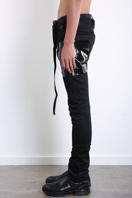 1017 ALYX 9SM Taped Jean - BLACK