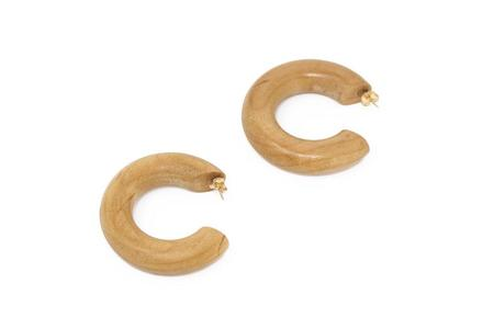 Sophie Monet Jewelry Small Hoops - Pine