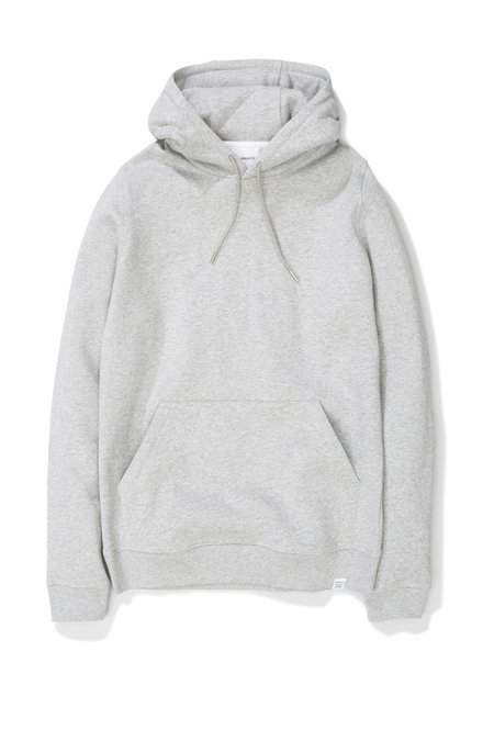 Norse Projects Vagn Classic Hood - Light Grey Melange