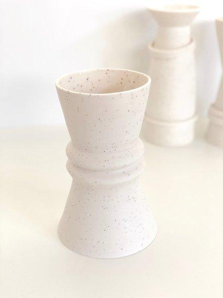 Sandbox Ceramics Chunky Ribbed Vase