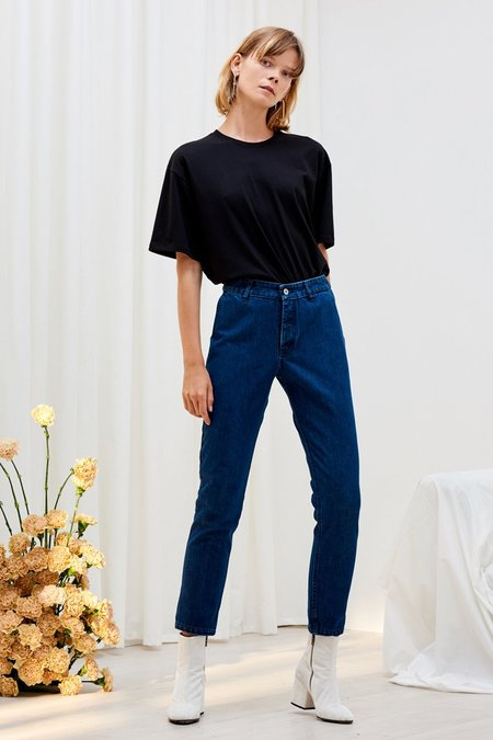 Kowtow Rally Pant - Classic Denim