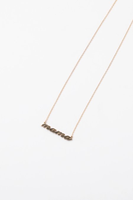 THATCH MAMA NECKLACE - Gold