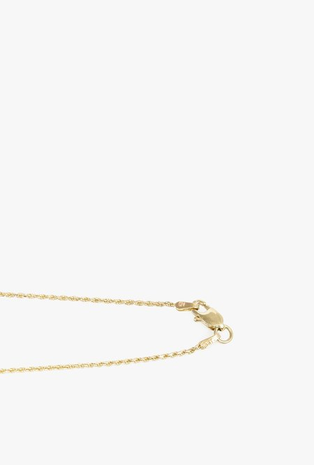 "GJenmi OG Rope Chain Necklace 16"" - 14k Gold"