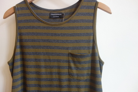 London Alexander Stripe Tank