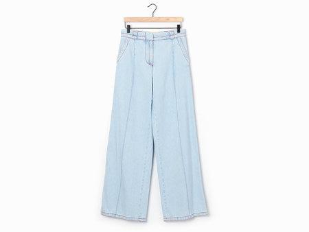 Marni Wide-Leg Jeans - Stonewash