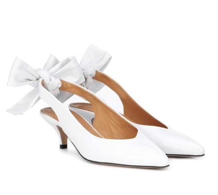 Ganni Sabine Pump - Bright White