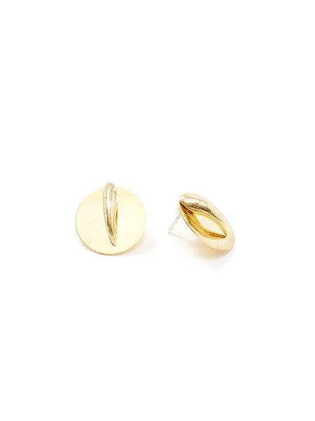 We Who Prey Claw Shield Earrings