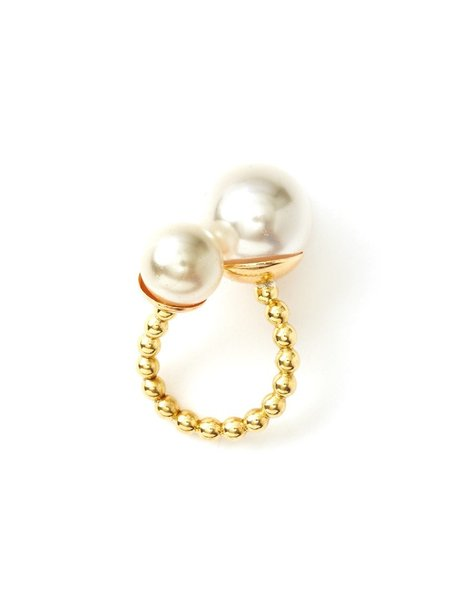 We Who Prey Duality Pearl Ring