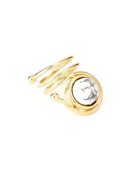 We Who Prey Marble Coil Ring