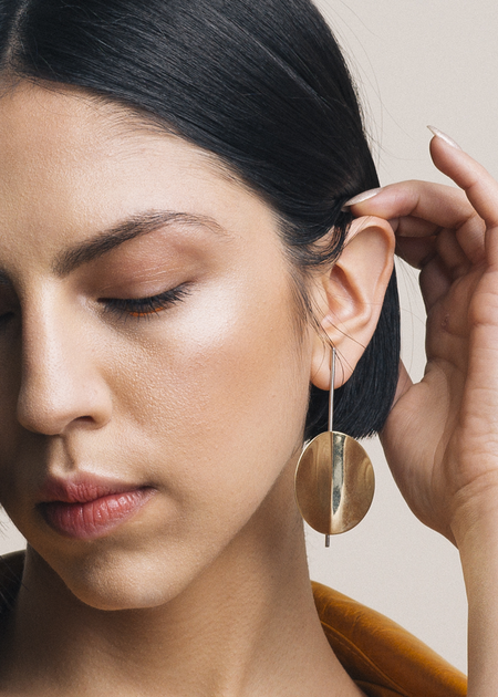 We Who Prey Extra Large Pendulum Earrings
