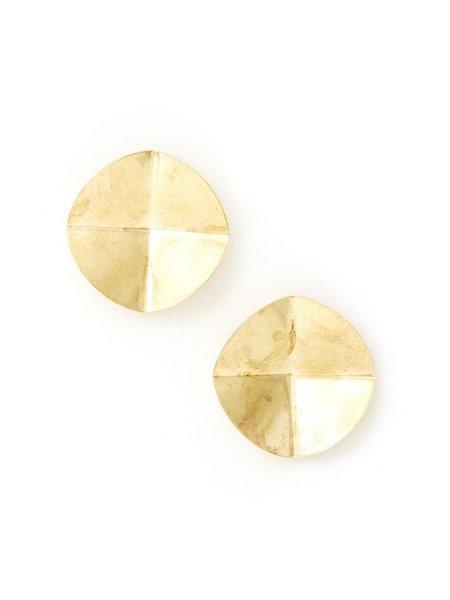 We Who Prey Radial Folded Earrings