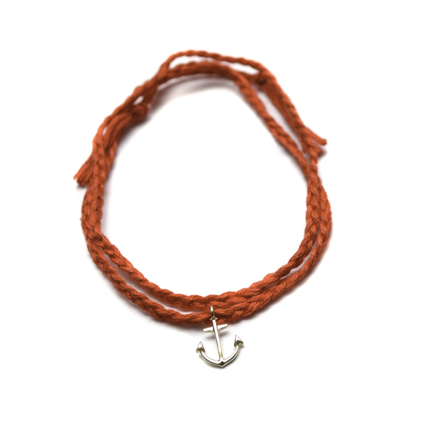 Minor Obsessions Anchor Wrap Bracelet