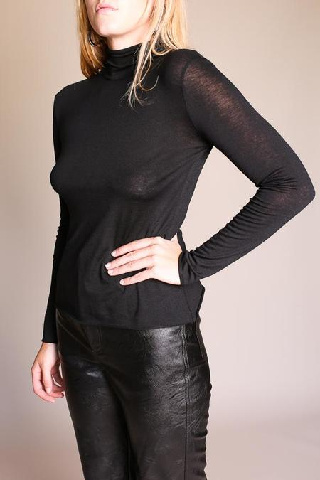 No.6 Gloria Turtleneck - Black Jersey