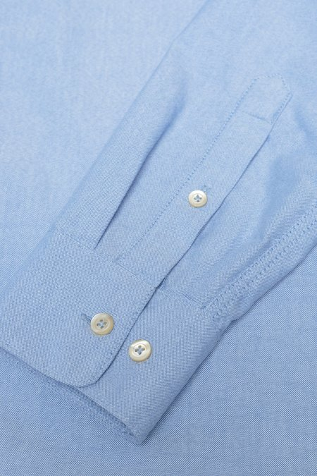 A Kind Of Guise Permanents Button Down Oxford - Light Blue