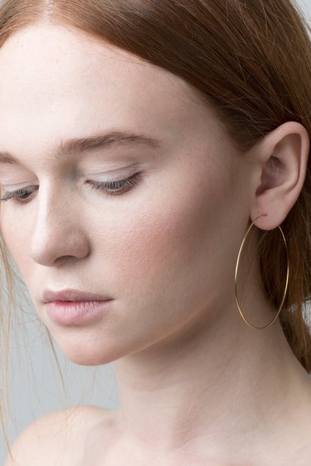 Thatch Lola Hoops - 14k Gold