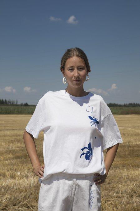 Projekt Eva Vintage Cotton Jersey Shirt - White